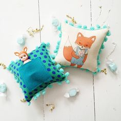 Farrah Fox Mini Tooth Fairy Pillow - Live Sweet Shop