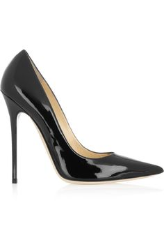 Executive suite - boss lady....Jimmy Choo Anouk patent-leather pumps
