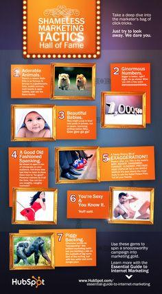 Shameless Inbound Marketing Tactics Guaranteed to Work [infographic] Inbound Marketing, Marketing Tactics, Marketing Digital, Business Marketing, Content Marketing, Internet Marketing, Marketing And Advertising, Online Marketing, Social Media Marketing