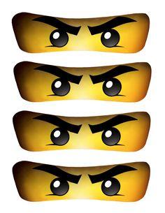 Lloyd's Ninjago Eyes High Resolution by OrchidAvePrintables, $1.99