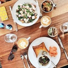 #FarmshopLA Brunch the #Farmshop way with the Poached Chicken Salad and Coddled Eggs. / Photo credit: @inesnaouali