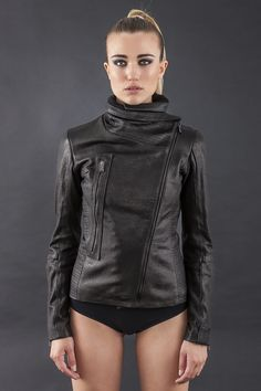Quilted Leather Jacket | Fashion for tall women | tall clothing | tall style | tall ootd | long arms | tall clothes