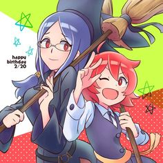 Little Witch Academia/ Little Wich Academia, My Little Witch Academia, Awesome Anime, Anime Love, Best Animes Ever, Tokyo Mew Mew, Anime Recommendations, Anime Nerd, Manga Anime
