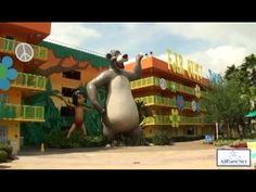 Video Tour of Disney's Pop Century Resort, Walt Disney World, Florida by AllEarsNet