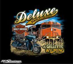 Back Prints | Deluxe Harley-Davidson® | Gillette Wyoming