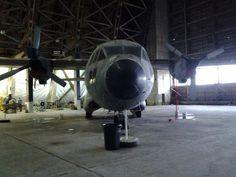 C-27A Spartan at Tillamook Air Museum in Tillamook, Oregon