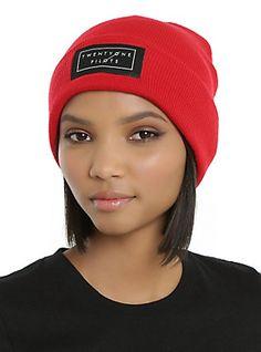 Twenty One Pilots Red Logo Beanie,