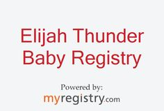 My gift registry on MyRegistry.com