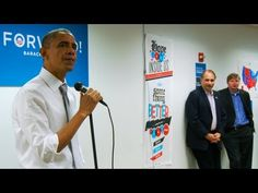 President Obama has had an emotional ride through his final campaign, and the emotion spilled over Wednesday when he momentarily cried while addressing his Chicago campaign staffers. I can tell it comes straight from the heart, he's a good man !!