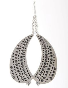 Studded Collar Necklace, flirtcatalog.com