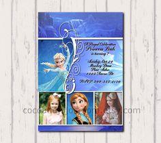 Disney's Frozen  Queen Elsa Invitation  by cocoandjojosroom, $8.00