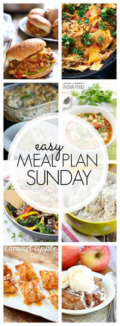 Our Easy Meal Plan Sunday #69 has so many great recipes to make dinner planning easier. They're family friendly so everyone will be happy!