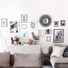 Comment Decorer Vos Murs Facilement Cadre Deco Salon