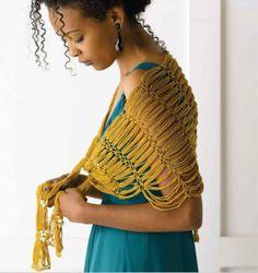 Patrones Crochet: Irresistible Proyecto Chal Lazos Loop