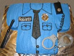 police themed cake Birthday Cake For Husband, New Birthday Cake, Birthday Bash, Birthday Party Themes, Birthday Ideas, Birthday Wishes, Cop Party, Police Cakes, Party Time