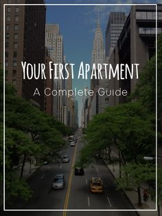 Moving out from your parents house for the first time? Or considering moving in the next couple years? Your first apartment, a complete guide is literally everything you need to move. Budget sheets, list of what to buy before moving and tips for finding a My First Apartment, Apartment Goals, Dream Apartment, Apartment Living, Apartment Ideas, Apartment Guide, Apartment Checklist, Seattle Apartment, Apartment Essentials