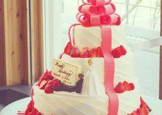 インスタで発見♡自慢したいくらい可愛いウェディングケーキのデザイン15選のトップ画像