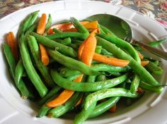 Green Beans And Carrots Sauteed In Butter And Garlic Recipe - Food.com: Food.com