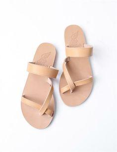 Ancient Greek Sandals Daphnae- Natural