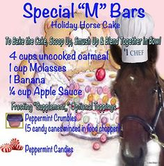 Horse Products 101 | Equine Products | Homemade Horse Treats | Recipes