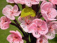 Cherry Blossom French Beaded Flower Arrangement от BeadedFleur