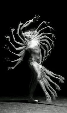 ♥ Dancer - Unknown Photographer-slow shutter speed, slight paused movements