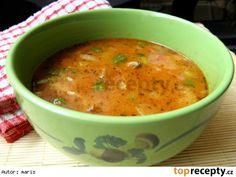 Polévka z hlívy ústřičné  á la dršťková