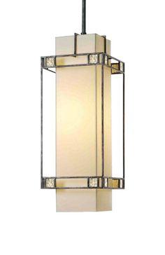 Lanterne d'inspiration Mackintosh