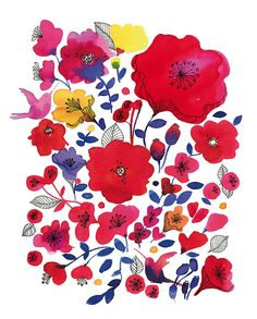 Kate Spade Artists print by miss Capricho, via Flickr