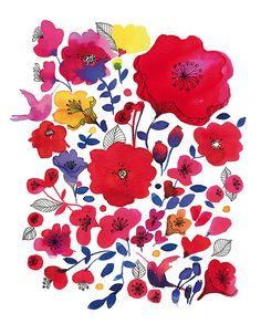 Kate Spade Artists print by miss Capricho, via Flickr