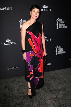 Costume designer Nancy Steiner attends the 16th Costume Designers Guild Awards with presenting sponsor Lacoste at The Beverly Hilton Hotel o...