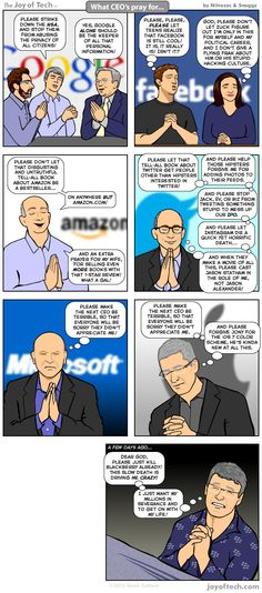 What CEO's pray for #comic #humor
