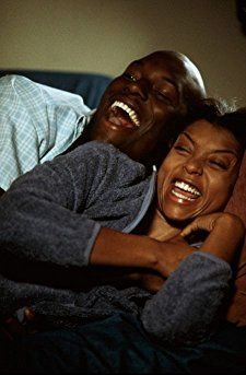 Tyrese Gibson (Jody) and Taraji P. Henson (Yvette) in Baby Boy Baby Boy Movie, Baby Boy Photo Album, Couple Noir, Black Love Couples, Taraji P, Black Tv, Black Girl Aesthetic, Movie Couples, Emotion