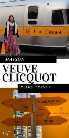 Veuve Clicquot is hands down the most well known Champagne brand in America, possibly worldwide. Follow along on my blog to see The Veuve Clicquot Maison and Spectacular Crayere Tours. West Coast Cities, Champagne Brands, Famous Wines, New West, Veuve Clicquot, Nyc Fashion, Best Dining, Eurotrip, Best Cities