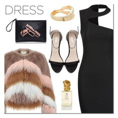 """Yoins choker  dress"" by mada-malureanu ❤ liked on Polyvore featuring Urbancode, Sisley, yoins, yoinscollection, loveyoins and chokerdress"