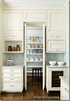 Most women dream of walk-in closet.. but what about a walk-in pantry?