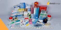 Wholesale dental supplies online- Get every dental supply you need without any hassle at Dentalmango a wholesale dental supply store online  http://www.dentalmango.com/pages/wholesale-dental-supplies-online-dental-equipment-sale