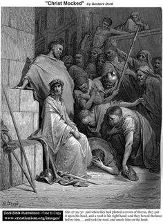 Christ Mocked - Gustave Dore