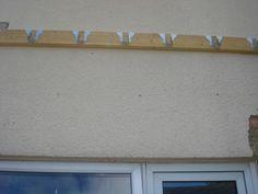 Joist hangers in place.