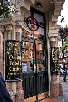 St James Tavern in London's Soho district.
