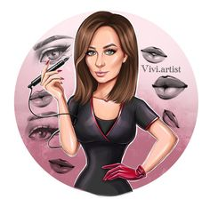 Custom cartoon portrait for your business logo Portrait Illustration, Digital Illustration, Digital Portrait, Digital Art, Make Avatar, Beauty Salon Logo, Cartoon Logo, Business Logo, Boss Babe