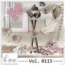 Vol. 0115 - Winter Mix  by Doudou's Design  #CUdigitals cudigitals.comcu commercialdigitalscrapscrapbookgraphics #digiscrap