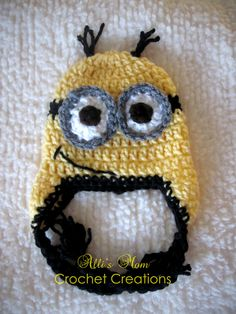 Despicable Me Minion Beanie. YES!