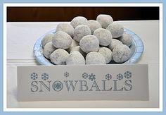 Fun snowman party idea.  I LOVE SNOWMEN!