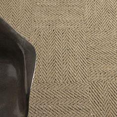 """flor carpet tile """"look both ways"""" in flax, herringbone pattern"""