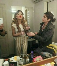 Martina Stoessel (TINI)❤ Doll Wigs, Doll Hair, Real Hack, Hack Online, Your Photos, Jumpsuit, Guys, Stars, Image