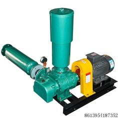 Roots blower used in wate treatment plant