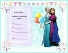 Free frozen party