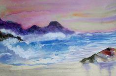 watercolor  painting artist  Madelane Reagan