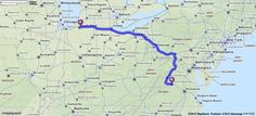 Driving Directions from Granger, Indiana to Charlottesville, Virginia   MapQuest